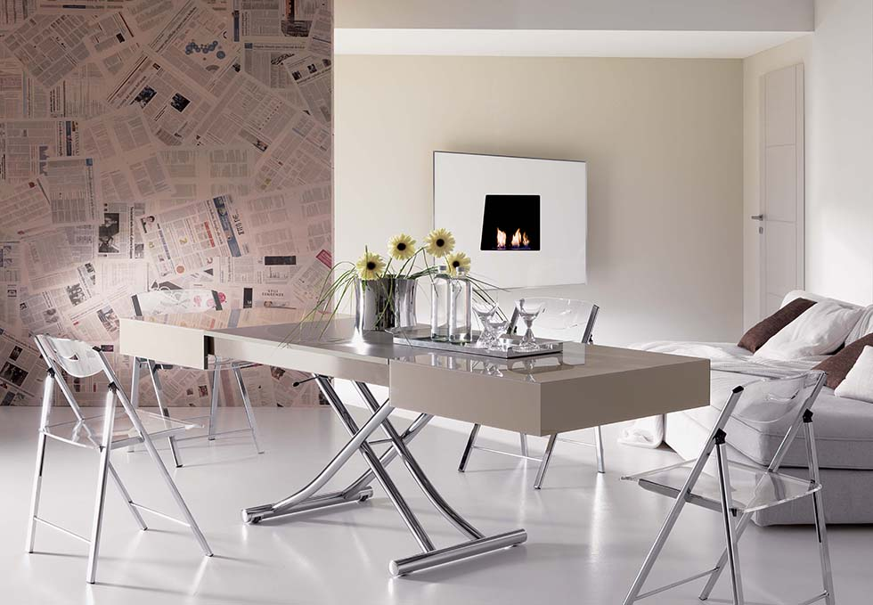 Magic By Ozzio Design.10 Great Transformable Living And Dining Room Tables By Ozzio