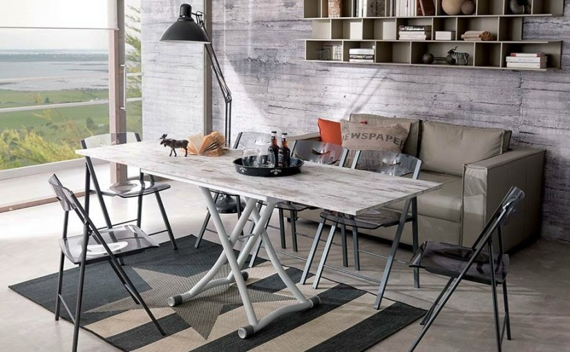 10 Great Transformable Living and Dining Room Tables by Ozzio