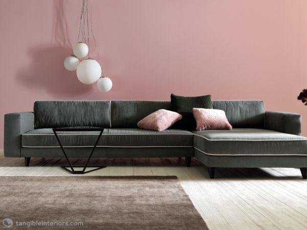 Elegant Lucas Sofa by Doimo Salotti → Tangible Interiors
